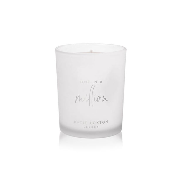 KATIE LOXTON | ONE IN A MILLION SENTIMENT CANDLE
