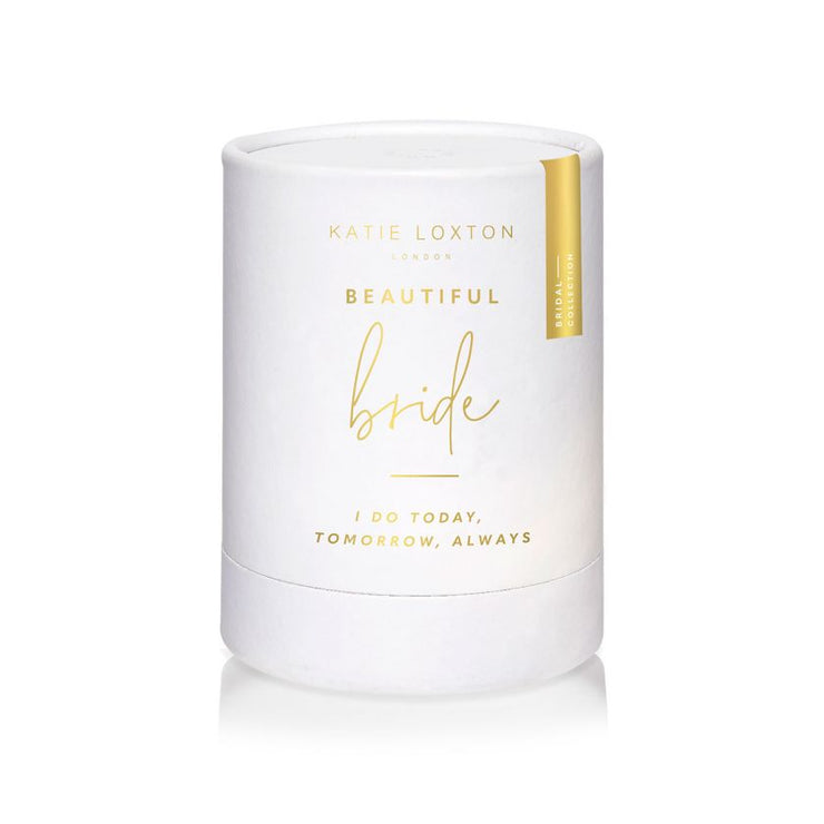KATIE LOXTON | BEAUTIFUL BRIDE SENTIMENT CANDLE