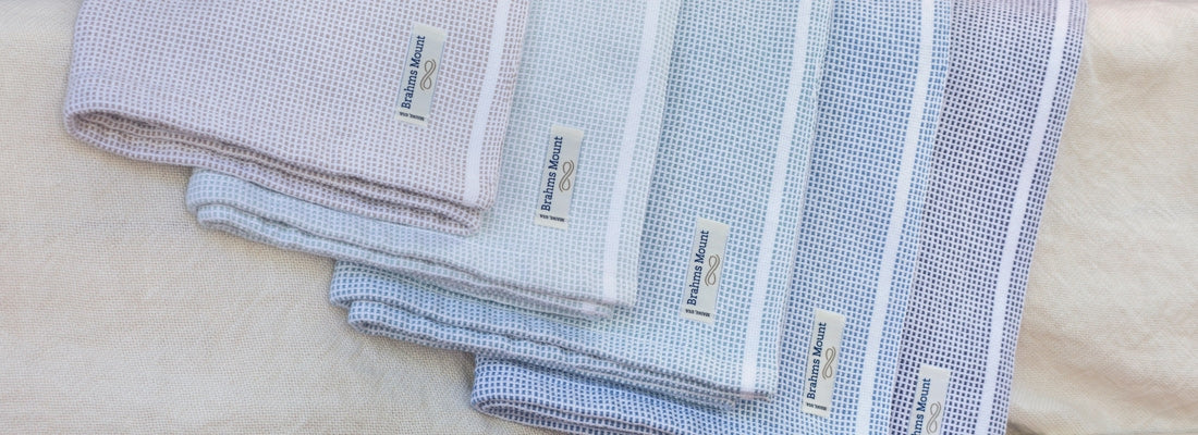<p>Crafted for pure comfort, our cotton blankets have been handcrafted on artisan looms in Maine for over a century. Timeless and finely woven, these classic cotton blankets carry on the legacy of our textile traditions.</p>