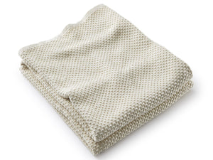 Harmony Natural folded blanket.