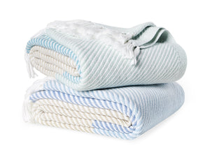Stack of Sugarloaf throws.