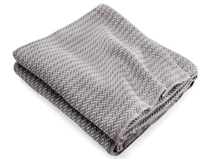 Chebeague Granite Marly folded throw.