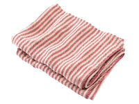 McClary Natural/Red folded towel.