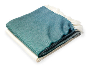 Palermo clover folded throw.