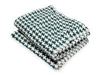 Rockport Forest folded throw.