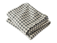 Rockport Slate folded throw.