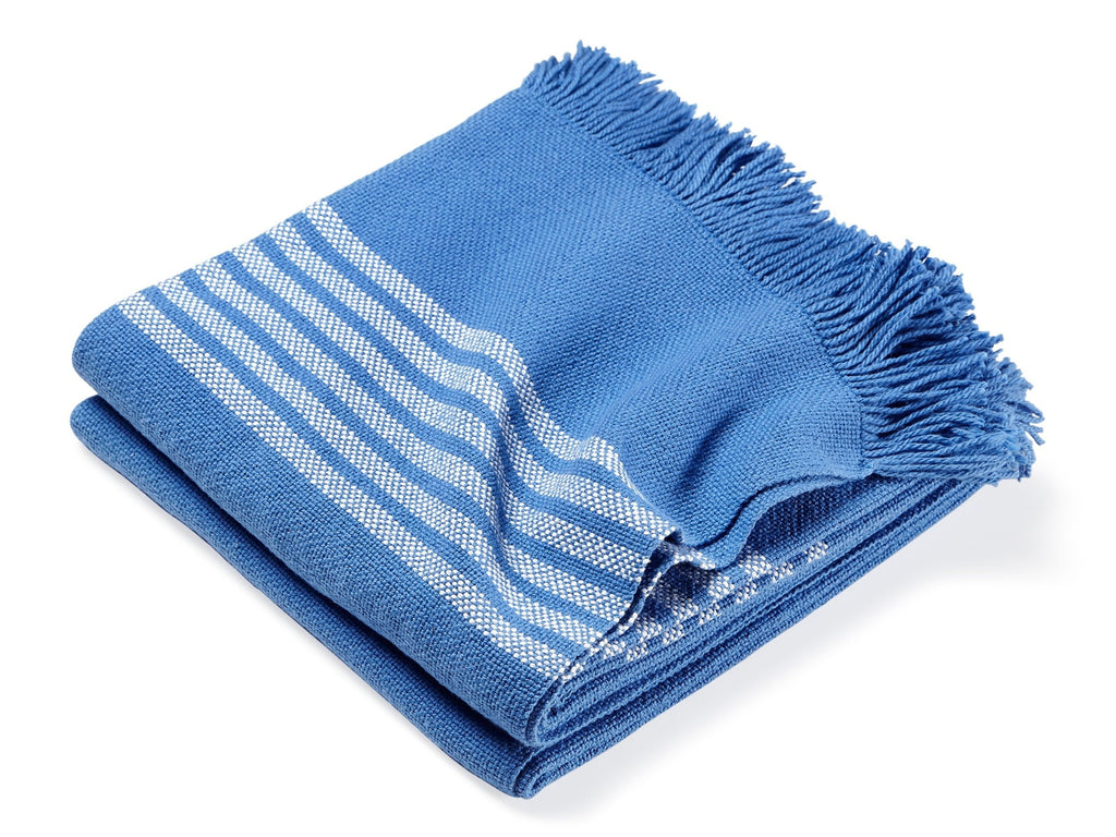 Pembroke Baja folded throw.