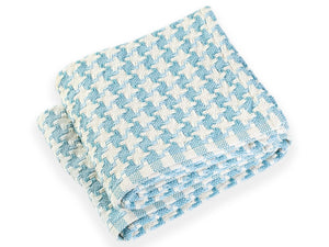 Bucksport Shore folded throw.