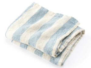 Baxter Light Indigo folded towel