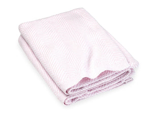 Penobscot Woodrose folded blanket.