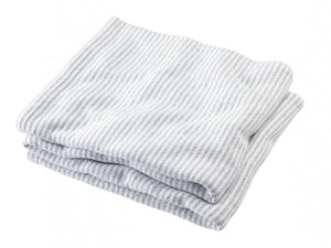 Winslow grayheather folded blanket.