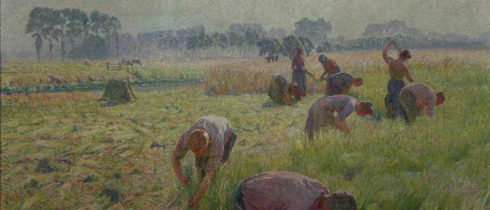 Flax Field Workers