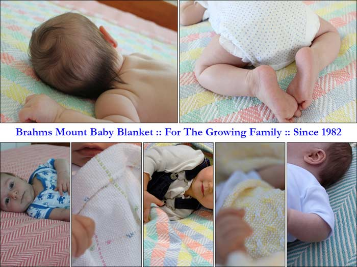 Brahms Mount Baby Blankets Since 1983