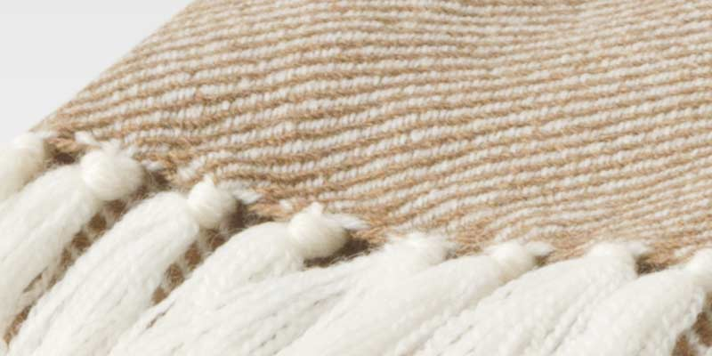 Oatmeal Ombre Throw