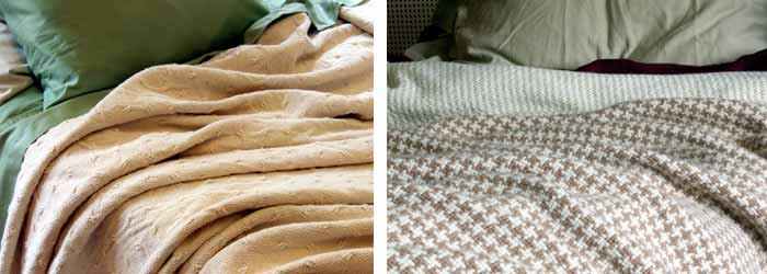 Brahms Mount layered blankets