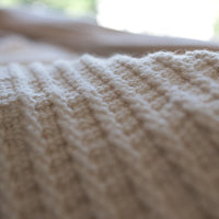 cotton rib blanket
