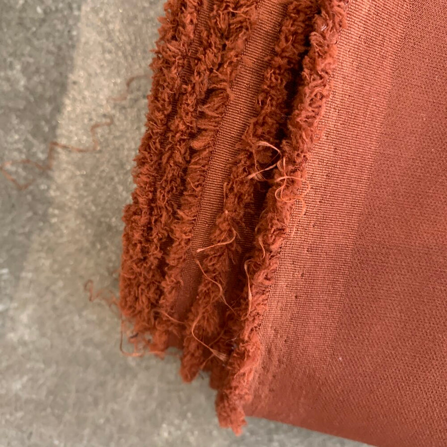 DRAPY HEAVY WEIGHT TOILING FABRIC PACK (RUST)