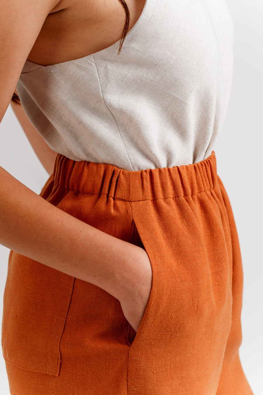 Opal Pants and Shorts pattern- Megan Nielsen