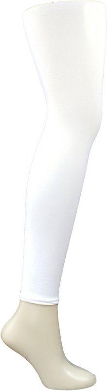 Footless Tights White