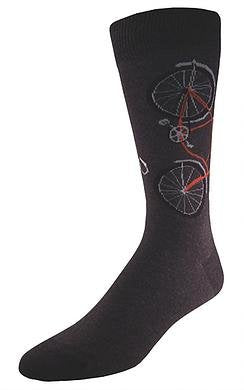 Socks Bicycle Charcoal
