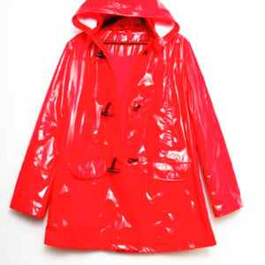 Welly Coat Red