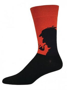 Socks Sherlock Burnt Orange