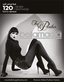 Tights 120 Denier The Panther Black