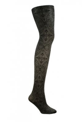 Tights Opaque Shimmer Detail By Columbine