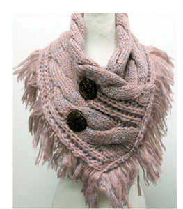 Knitted Cable Cowl