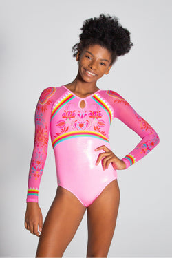 Amelina Long Sleeve Leotard