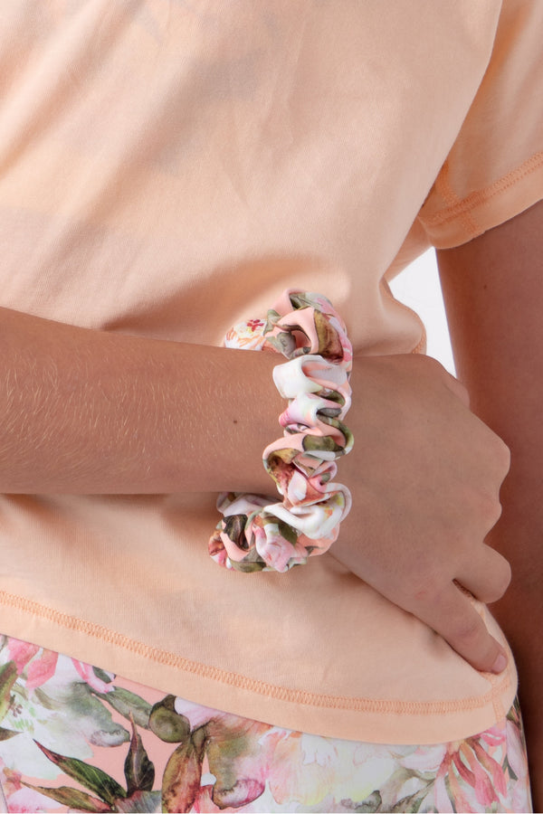 Desert Flower Scrunchie