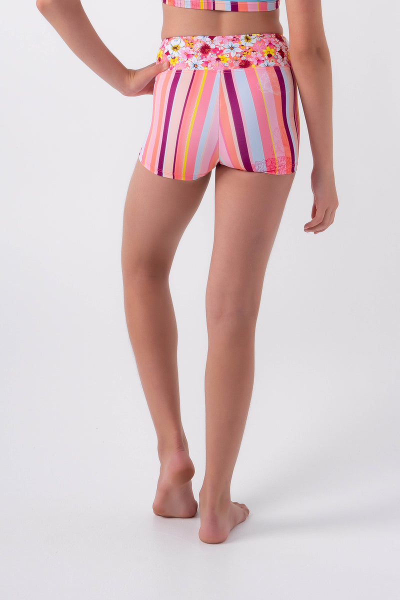 Gypsy Stripe Short