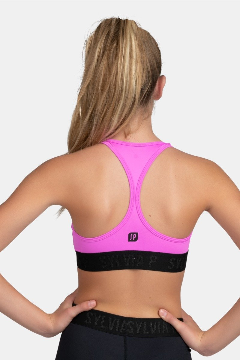 Elite Crop Top - Petal Pink