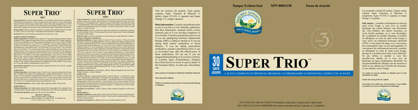 Super Trio (60 packets - 30-day complete nutritional program)