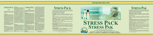 Stress Pack (30 packets - 150 capsules & 30 tablets)