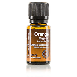 Orange Organic Authentic Oil (15 ml)