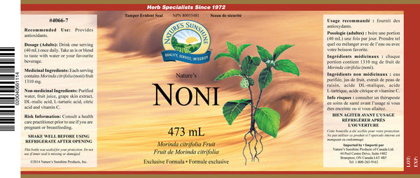 Noni, liquid (473 mL)