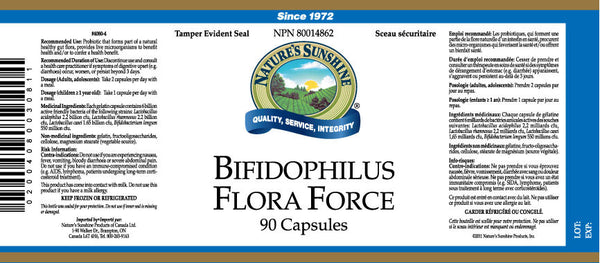 Bifidophilus Flora Force (90 caps)