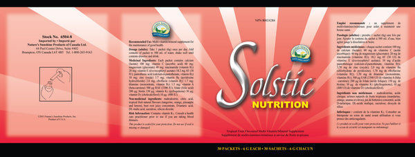 Solstic Nutrition (30 packets, 6 g each) - Nature's Sunshine Canada