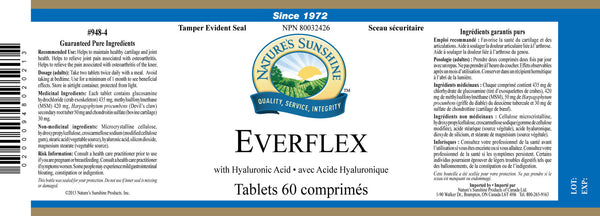EverFlex w/Hyaluronic Acid ( 60 tablets)