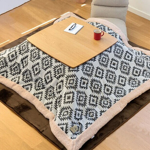 Japanese Table With Blanket