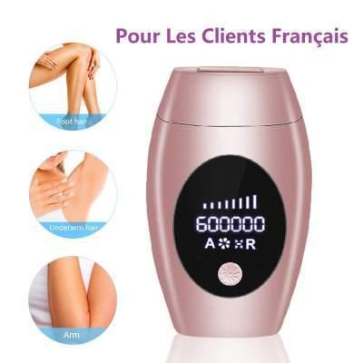 600000 Flash Professional Permanent Laser Epilator LCD Display Laser IPL Hair Removal Machine Photoepilator Painless Depilador - shopency