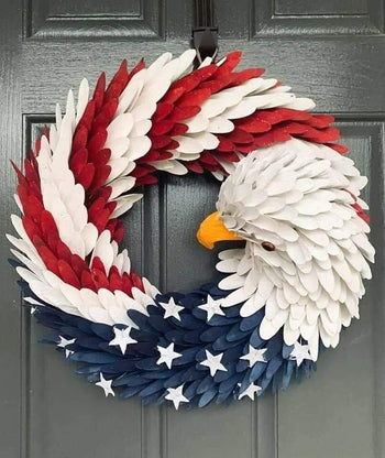 American Eagle Wreath Garland - shopency