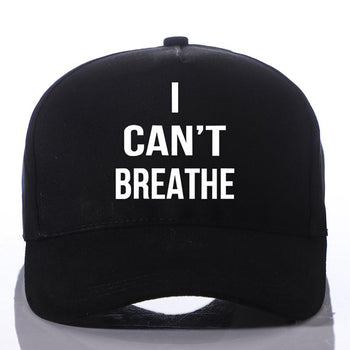 I can't Breathe Summer Hat Adjustable Sports Hats Baseball Caps - shopency