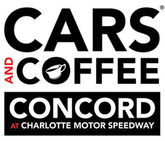 Cars and Coffee Concord at Charlotte Motor Speedway