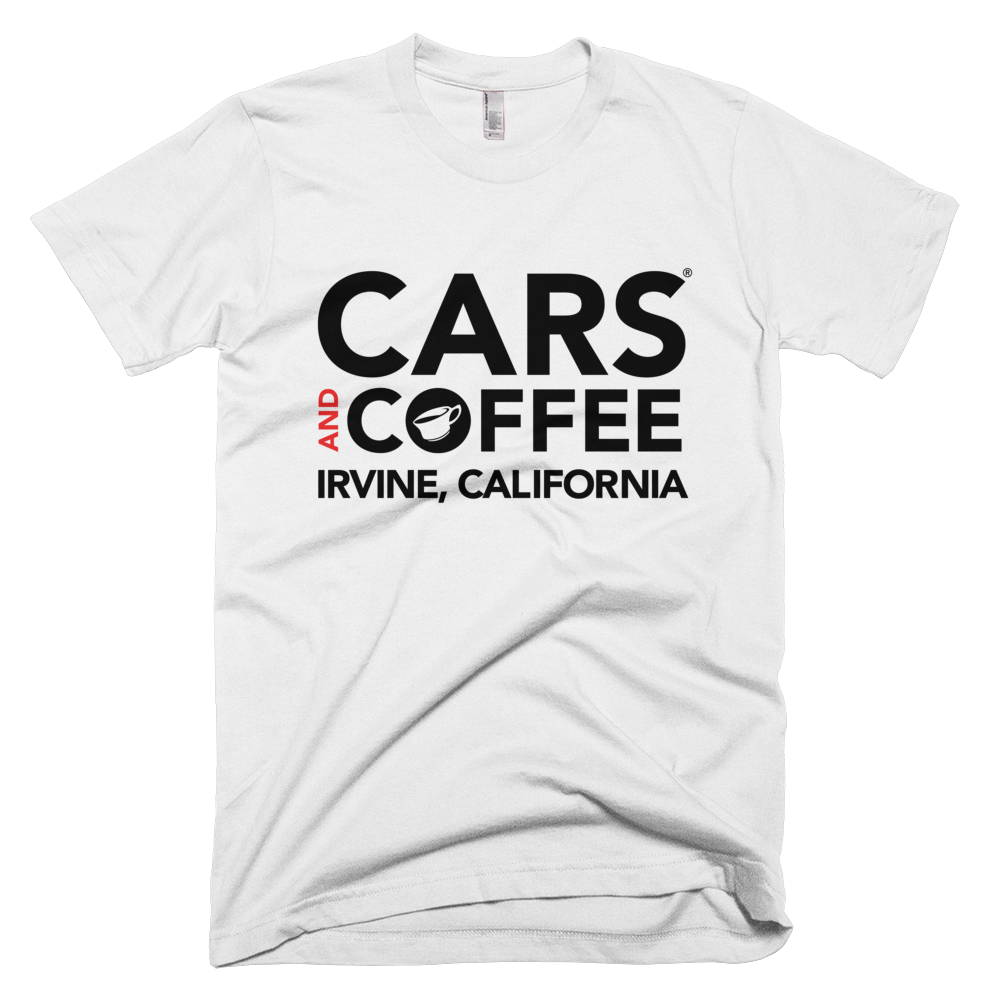 The Throwback Tee - Cars and Coffee® Irvine
