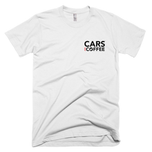 Load image into Gallery viewer, The Badge Tee - Cars and Coffee®