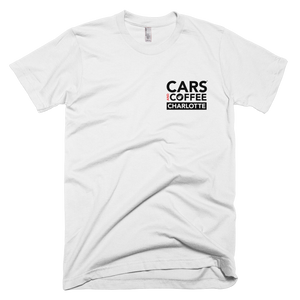 The Badge Tee - Cars and Coffee® Charlotte
