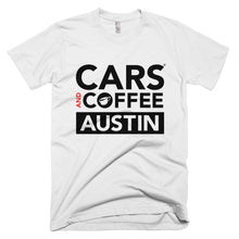 Load image into Gallery viewer, The Classic Tee - Cars and Coffee® Austin