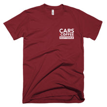 Load image into Gallery viewer, The Badge Tee - Cars and Coffee® Scottsdale